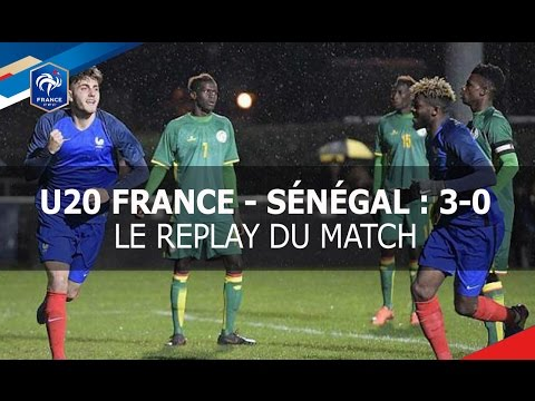 Jeudi 23 mars, Tournoi des 4 nations U20 : France-Sénégal