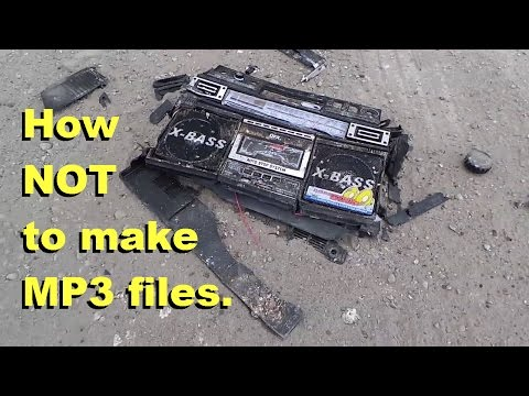 How NOT to create MP3 music from cassette (Feat. Techmoan)