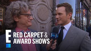 Watch Chris Pratt Gush Over Anna Faris and Son | E! Live from the Red Carpet