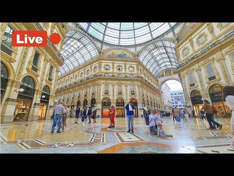 MILANO CITY Live Camera  -  walking around the City | live walking tour  |  02 July 2021 #live