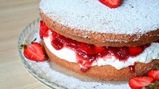 Бисквит Королевы Виктории ☆ Классический рецепт ☆ Queen Victoria's Cake