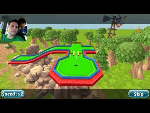 Mini Golf Cartoom Forest - GAME GRÁTIS PARA CELULAR - Gameplay em Português PT-BR