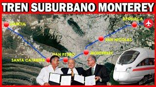 TREN SUBURBANO MONTERREY: MUNICIPIO DE GARCÍA HACIA EL AEROPUERTO | CONOCIENDO MEXICO