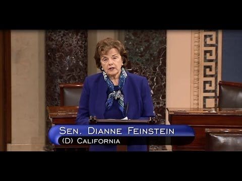 Feinstein On The Intel Committee's CIA Report
