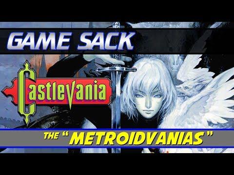 Castlevania The Metroidvanias - Game Sack