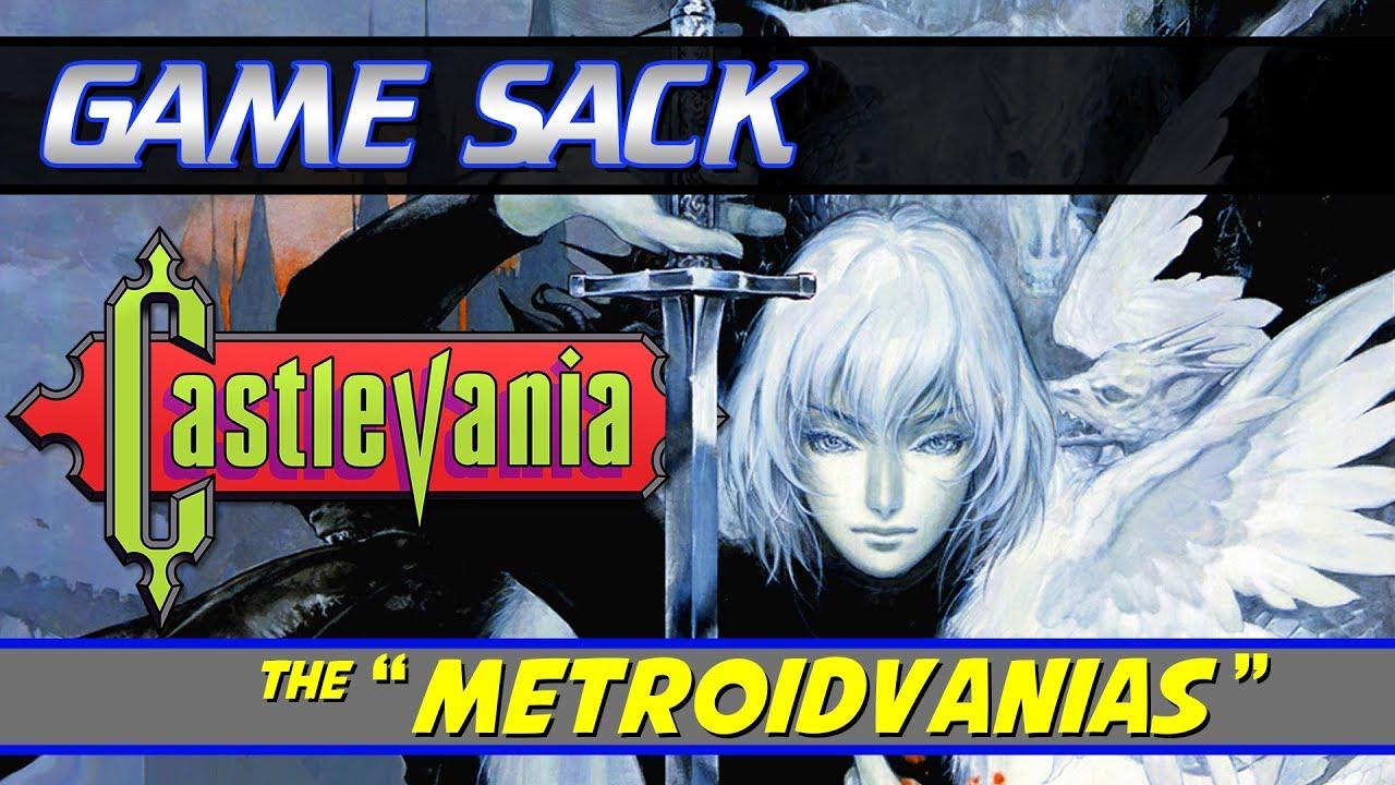 Castlevania The Metroidvanias – Game Sack