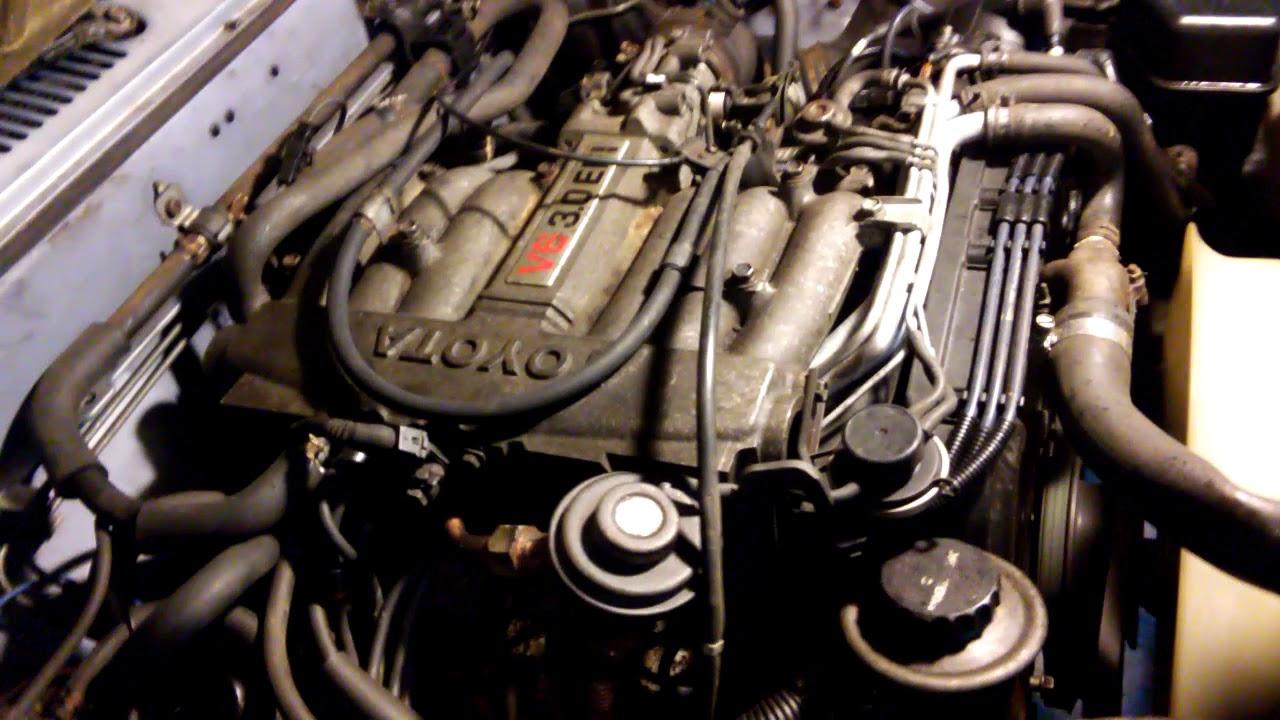 3vz 1990 Toyota 3vze 3vz-e V6 engine Motor Running