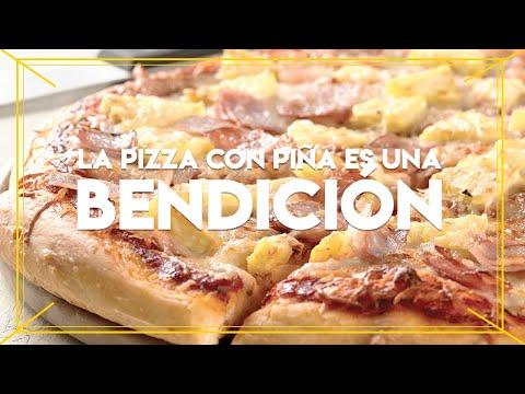 La pizza con piña es una bendición