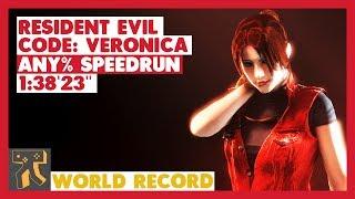 Resident Evil: CODE: Veronica X - Any% Speedrun - 01:38