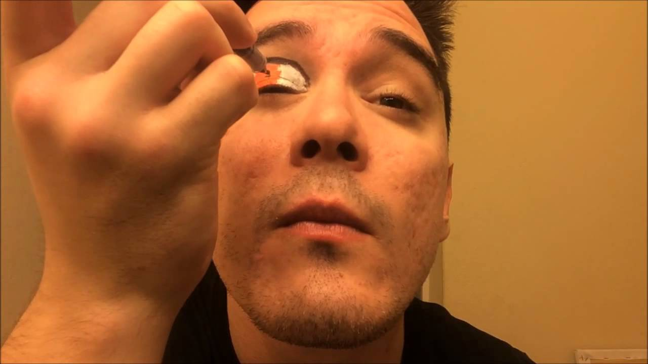 Face Painting Jeff Hardy Style Eye Tutorial Youtube