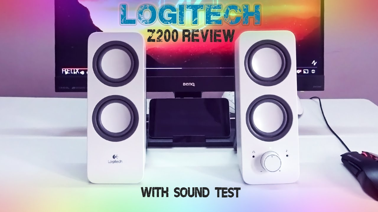 738601039b9 logitech Z200 speakers review & sound test | Best budget speakers ...