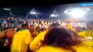 Closing of olympic games london 2012