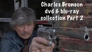 My Charles Bronson dvd & blu ray movie collection Part 2, & top 10