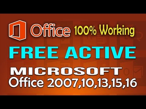 Activate Office 2013 or 2016 for FREE by hand - Without any software