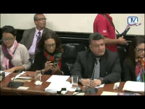 Comisión Investigadora créditos bancarios Audiencia Magistrado Celso Gamboa Sánchez