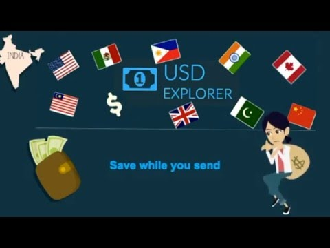 USD Explorer - Dollar exchange rates to India, Mexico, Philippines, Pakistan, Bangladesh, Nigeria