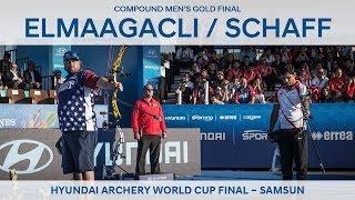 Demir Elmaagacli v Kris Schaff – compound men's gold final | Samsun 2018
