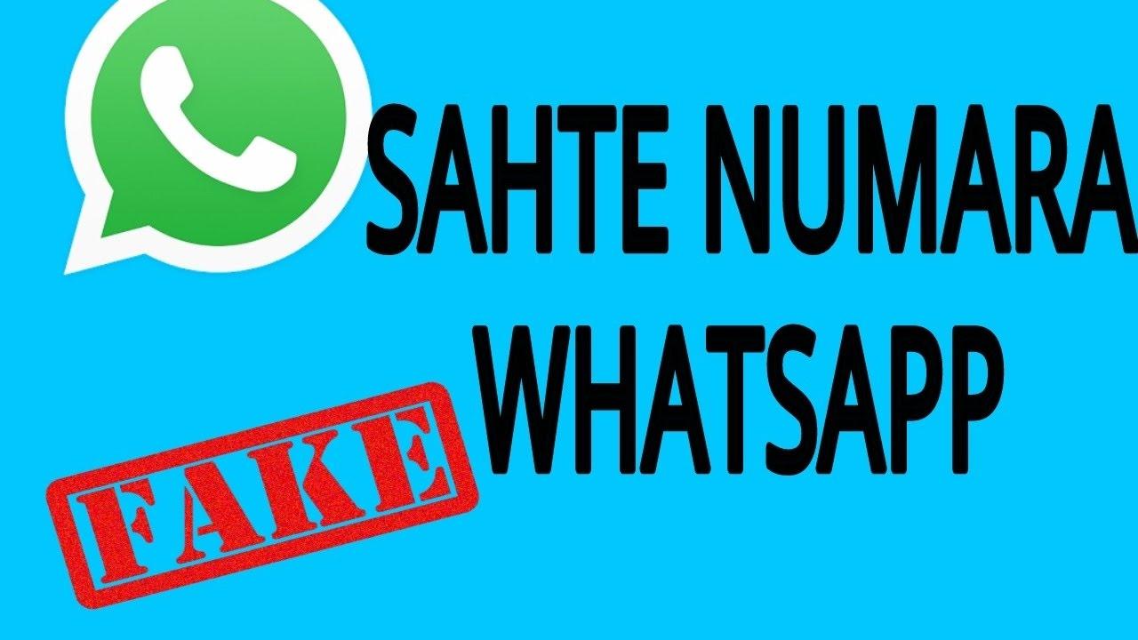 whatsapp sahte numara ile ilgili görsel sonucu