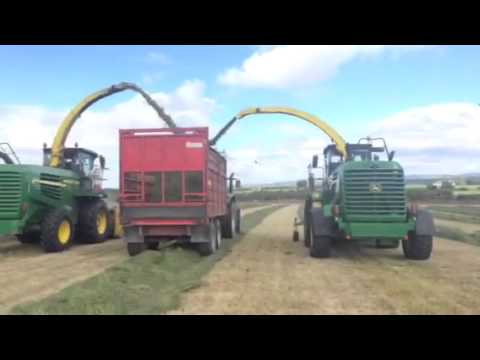 Gerard Collins Agri at silage 2014