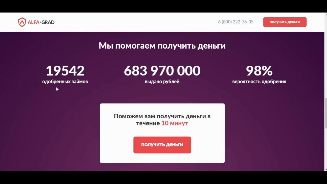 кредит 250000 рублей