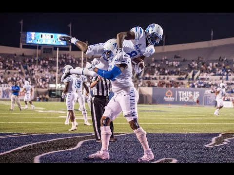 2016 American Football Highlights - Memphis 24, Tulane 14