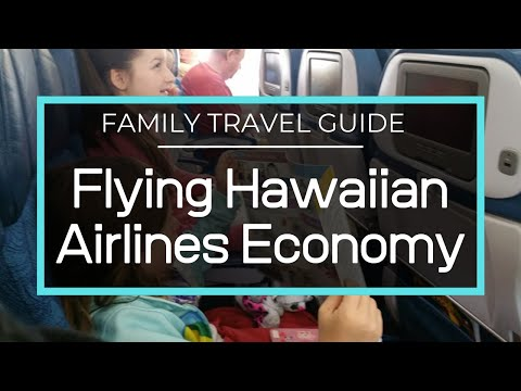 Flying Hawaiian Airlines With Kids - San Diego to Honolulu and Back In Economy
