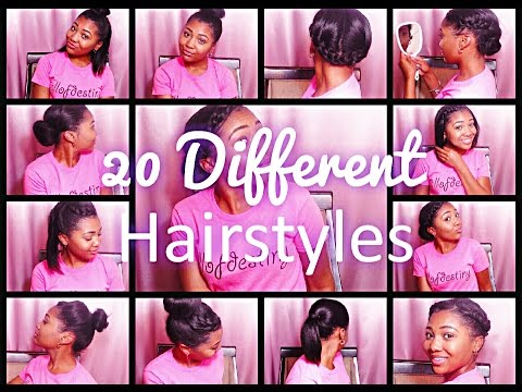 20 HAIRSTYLES for Straight Dirty Relaxed Hair!