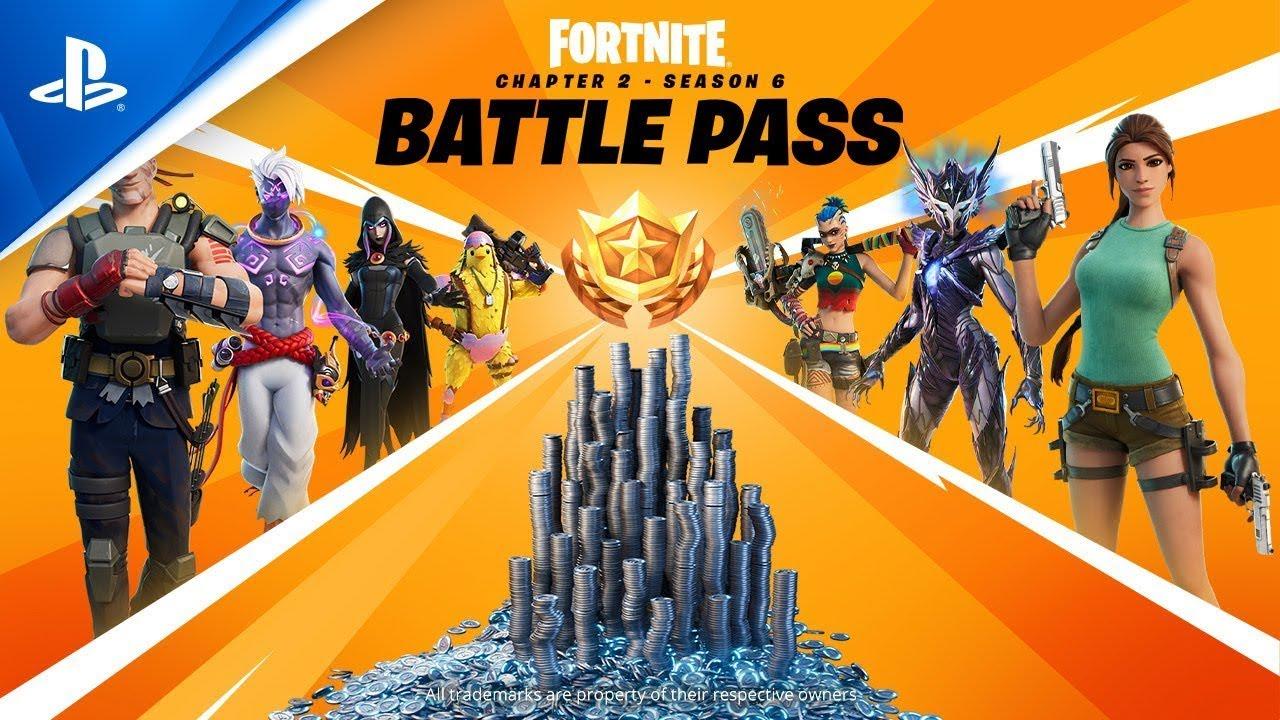 Fortnite - Season 6 Battle Pass Trailer   PS5, PS4