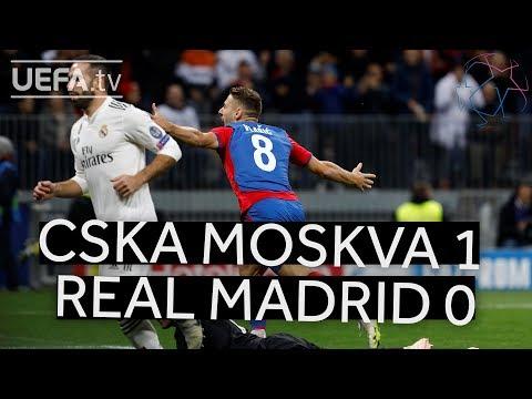 CSKA MOSKVA 1-0 REAL MADRID #UCL HIGHLIGHTS