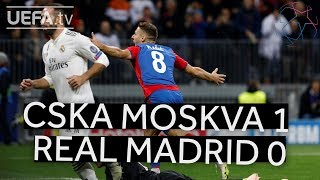 Real Madrid vs CSKA Moscow