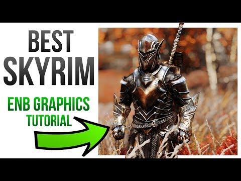 Skyrim Best Graphics Mods - ENB Install Tutorial Guide! thumbnail