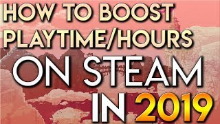How to Boost Playtime/Hours on Steam in 2019 Using Idle Master Extended