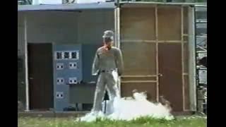 液化酸素での爆発