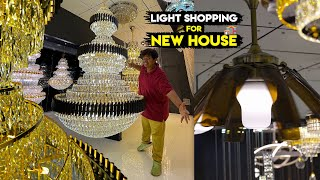 Lights Shopping For My New House - Ashik Lights - Irfan's View