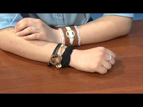 Копилка идей - Кожаные браслеты