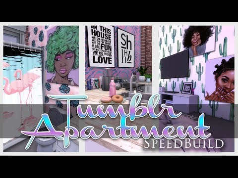 The Sims 4 Speed Build: Tumblr Apartment