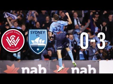 AWAY DERBY DOMINATION | WSW vs Sydney FC 0-3 | FFA Cup Semi Final Vlog
