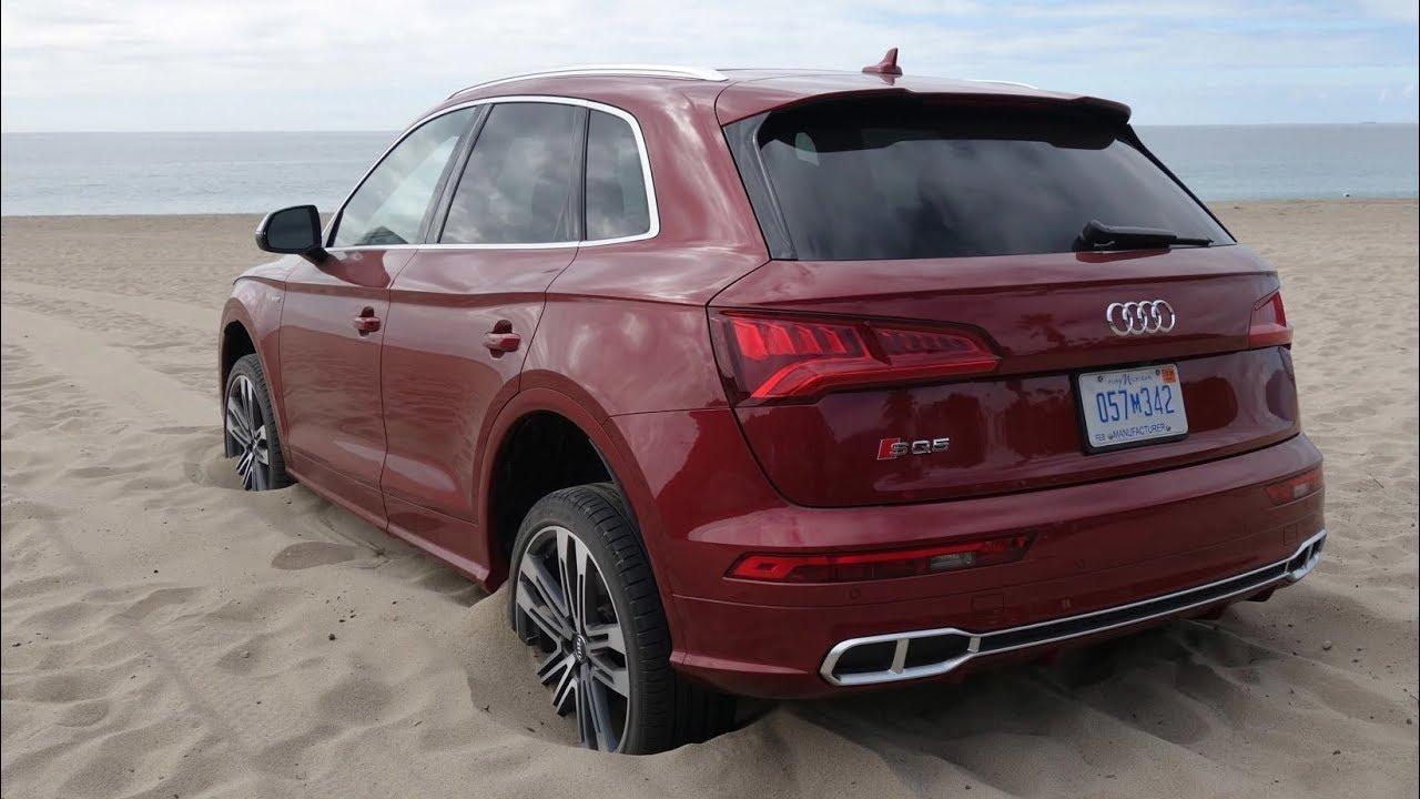 Audi Power on the beach... Quattro Fun!