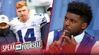 Dalton injured, remainder of season is over for Dallas Cowboys - Acho | NFL | SPEAK FOR YOURSELF