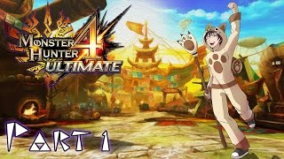 Monster Hunter 4 Ultimate | Part 1 | A New Beginning
