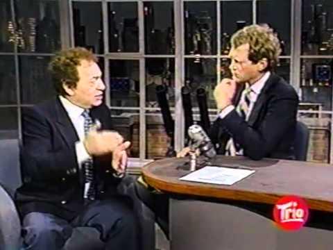 Jackie Mason on Letterman