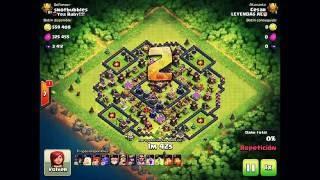 Bowler Attacks – Lanzarrocas en Accion | Ataques 3 Estrellas | Clash Of Clans LEYENDAS AE