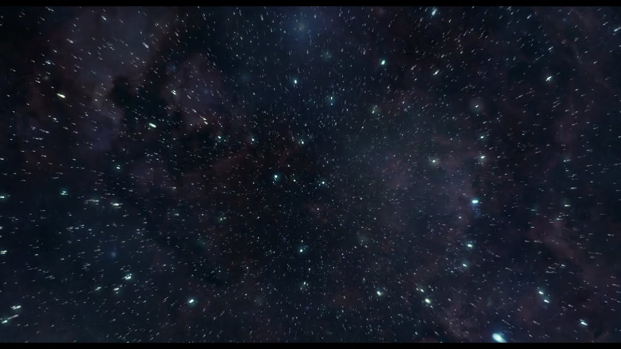 animated starfield desktop