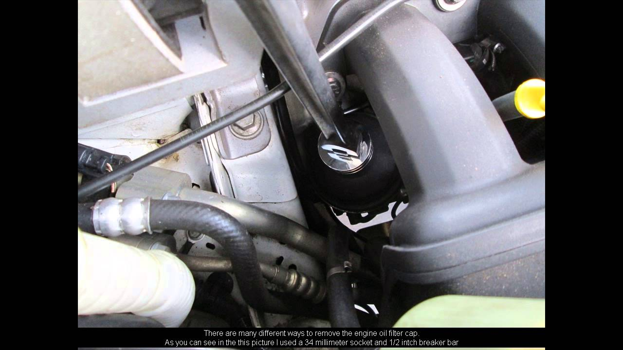 2008 land rover lr2 how to change the oil youtube. Black Bedroom Furniture Sets. Home Design Ideas