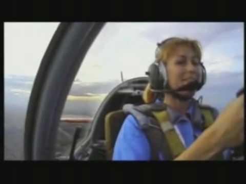 Svetlana Kapanina Aerobatic Pilot.