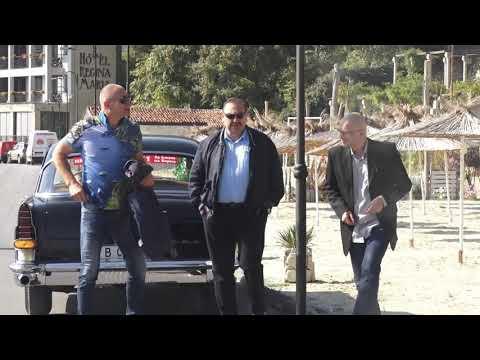 Кандидат кмет за Варна Цветан Атанасов с Генадий Грудков