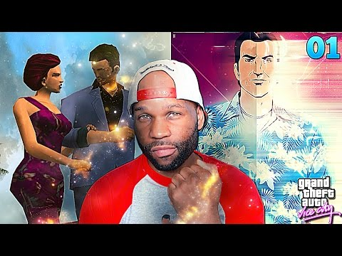 Grand Theft Auto Vice City Walkthrough Gameplay Part 1 - This Game Is So Lit! (GTA Vice City)