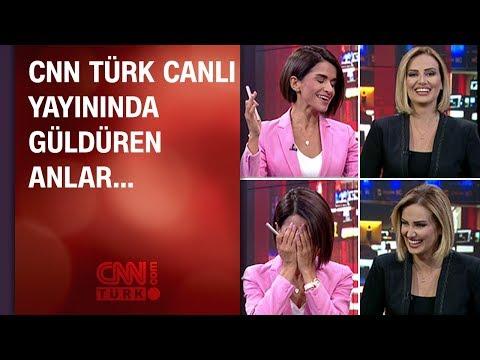 CNN TÜRK canlı yayınında güldüren anlar...
