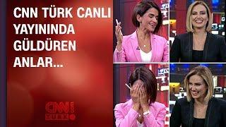 CNN TÜRK canlı yayınında güldüren anlar