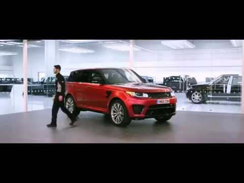 Jaguar Land Rover Special Vehicle Operations Paint Film